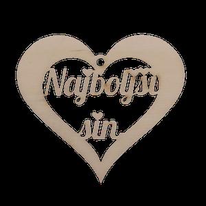 Figura srce najboljši sin