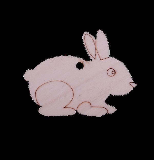 Prikupna figura zajec