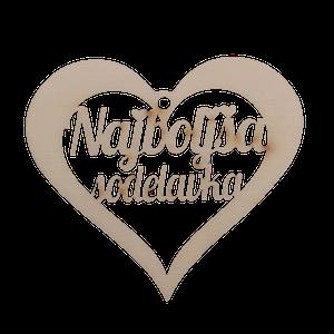 Figura srce najboljša sodelavka