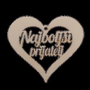 Figura srce najboljši prijatelj