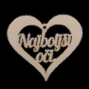Figura srce najboljši oči